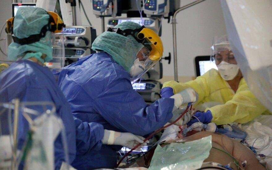 В Антавиляйском пансионате коронавирус установлен у пациентки