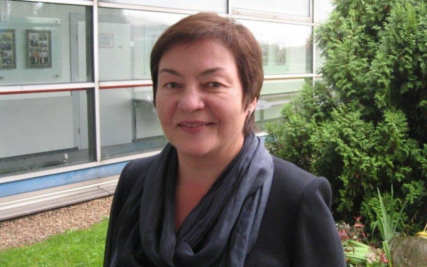 Baltarusijos žurnalistė Žana Litvina