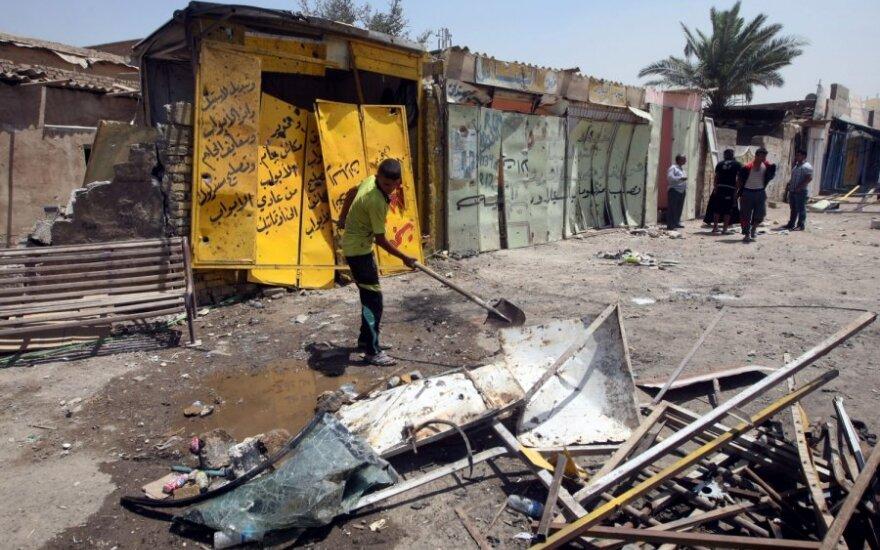 В Ираке взорвали и пытались захватить полицейский участок