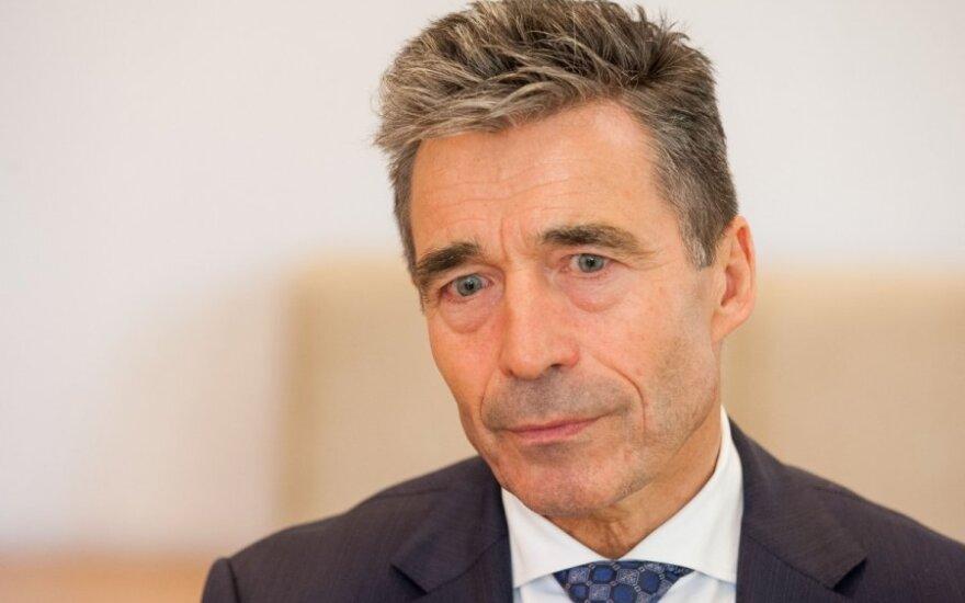 Экс-генсек НАТО: Украине предстоит еще долгий путь в альянс