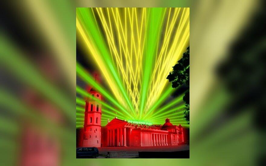Vilnius Naujųjų metų naktį