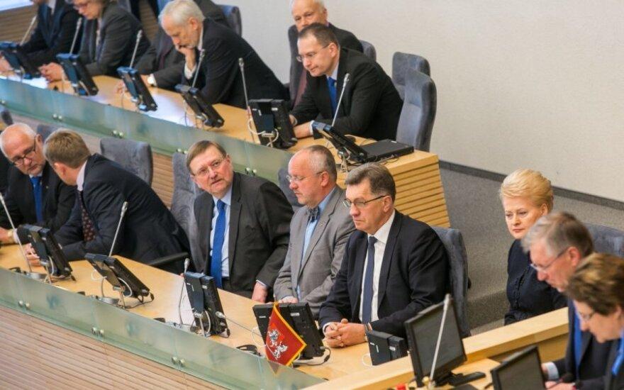 Министерства Литвы начинают выработку плана действий в связи с российскими санкциями