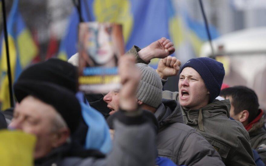 Ukrainos vyriausybė atsilaikė