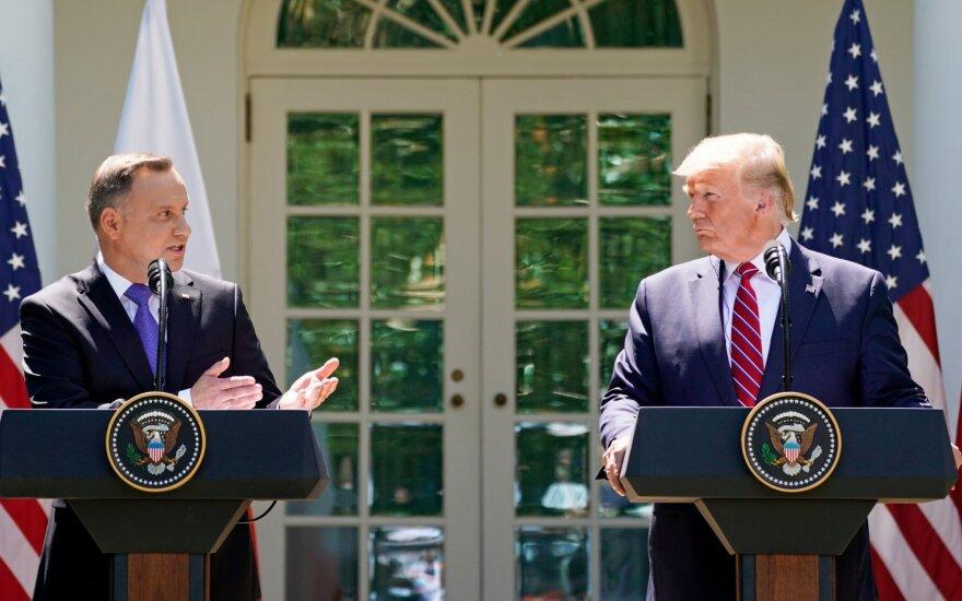 Andrzejus Duda, Donaldas Trumpas