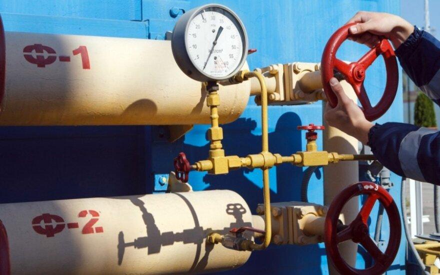Dujos, Gazprom, tiekimas