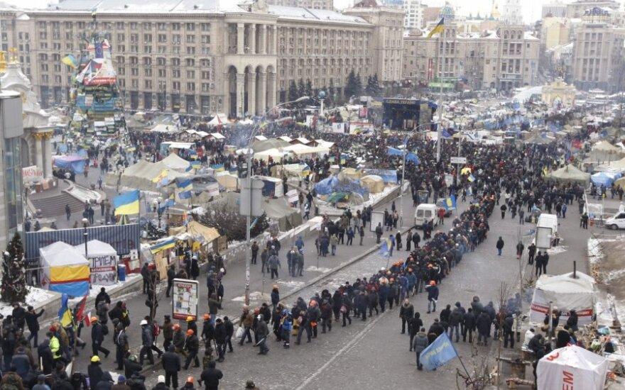 Киев: в Доме профсоюзов взорвалась коробка с лекарствами