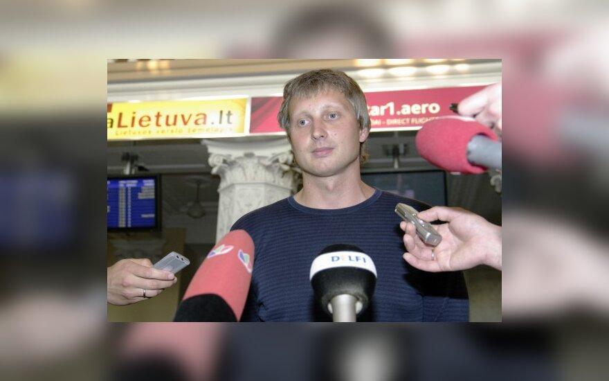 Lietuvos plaukikų treneris Žilvinas Ovsiukas