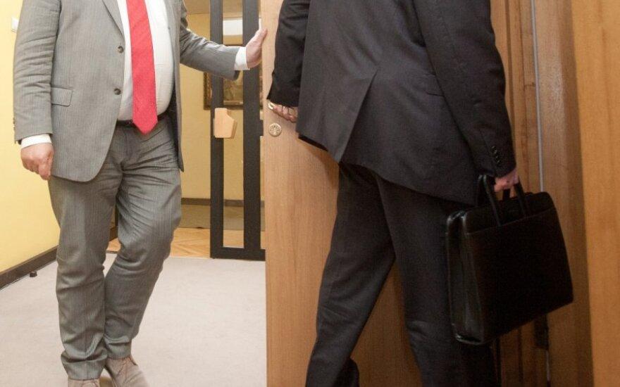 За границей работают около 100 атташе, делегированных литовскими министерствами