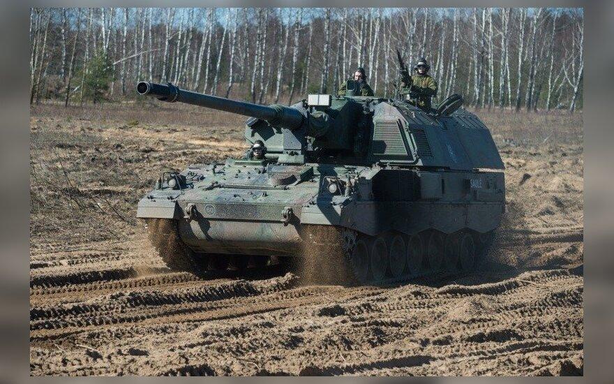 Германия поставила Литве две самоходные гаубицы