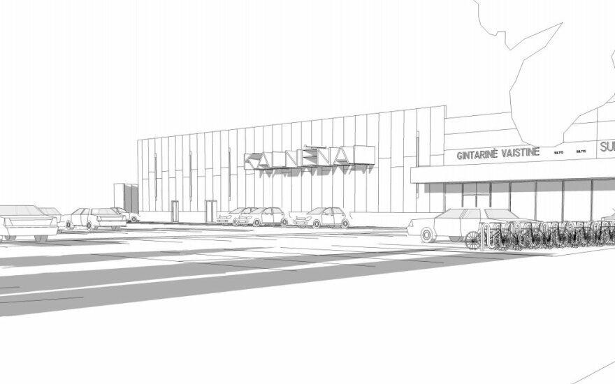 В районе Кальненай появится новый торговый центр