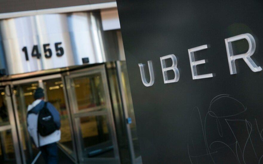ГНИ Литвы и Uber будут обмениваться данными о водителях