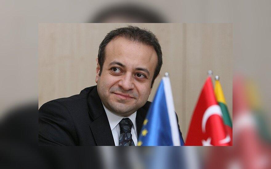 Ажубалис обсудит ход переговоров о вступлении Турции в ЕС