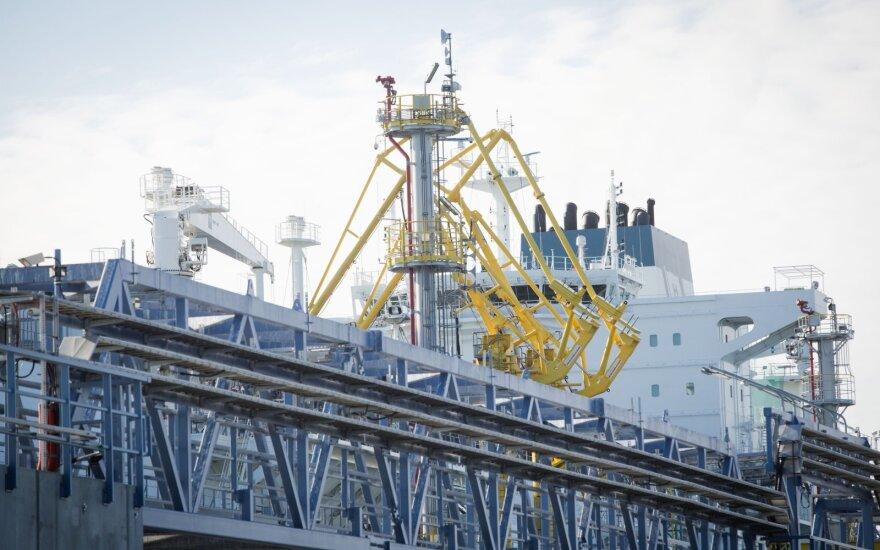 В Клайпеде – новый крупный груз СПГ