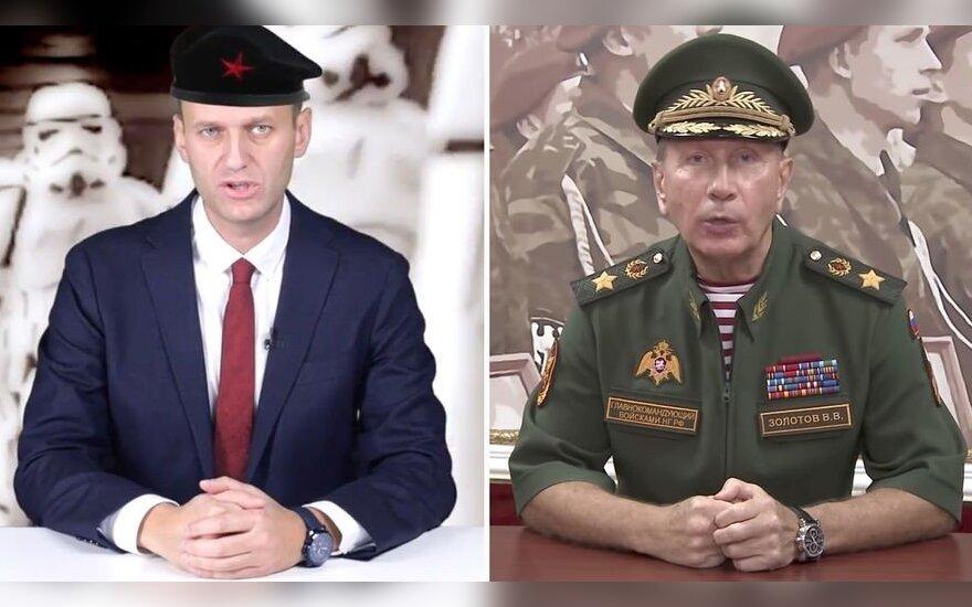 """Генерал Золотов """"съехал с сатисфакции"""": ему не хватит слов для дуэли с Навальным на теледебатах"""