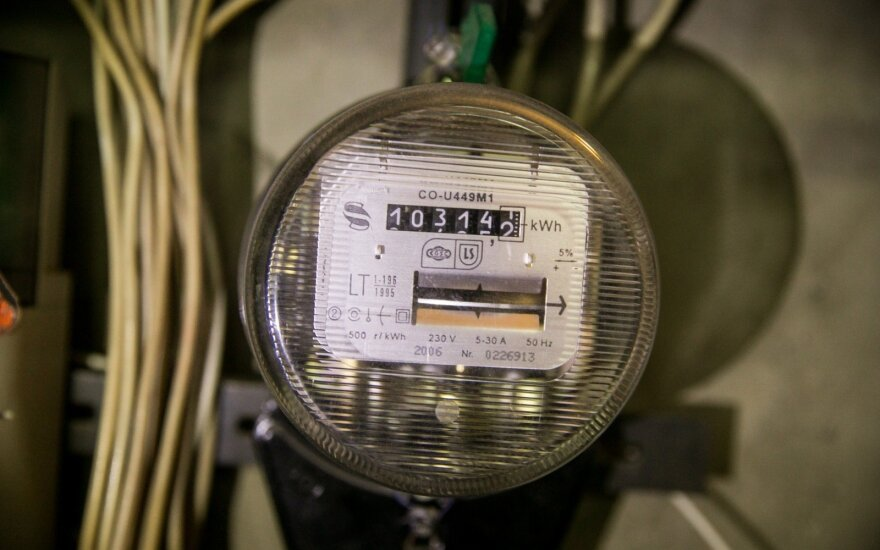 Litgrid: электроэнергия в Литве на минувшей неделе подорожала на одну десятую