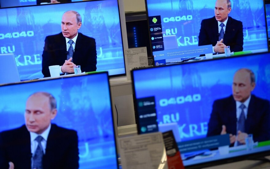 President Putin on Russian TV