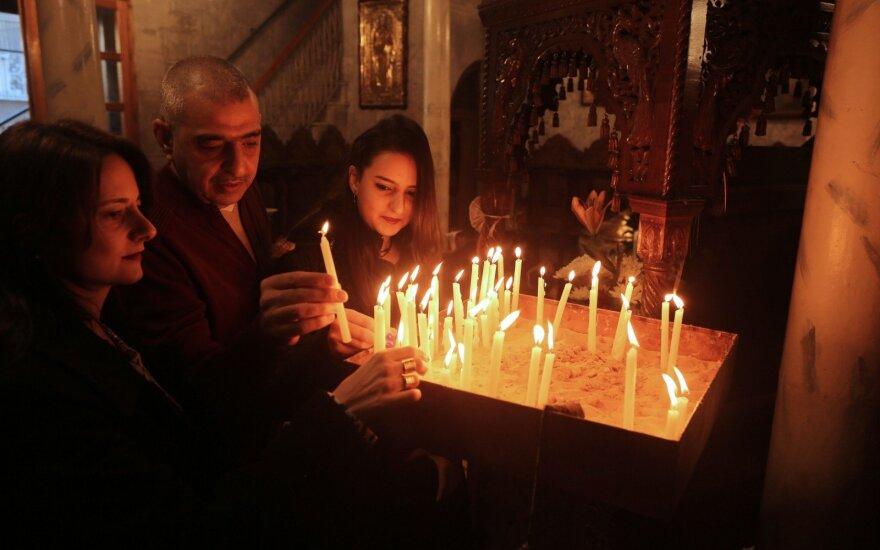 Православные христиане празднуют Рождество