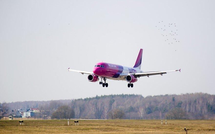 Самолёты Wizz Air начнут летать из Вильнюса в Гданьск