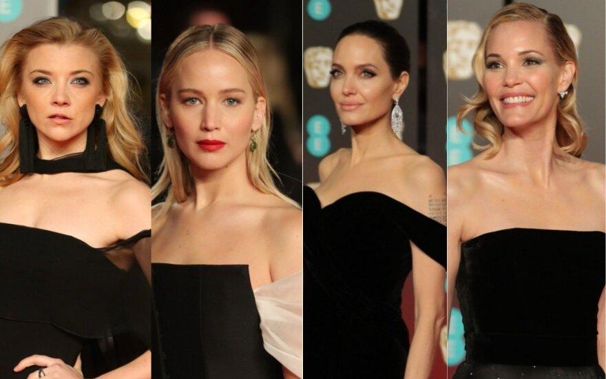 BAFTA raudonojo kilimo žvaigždės