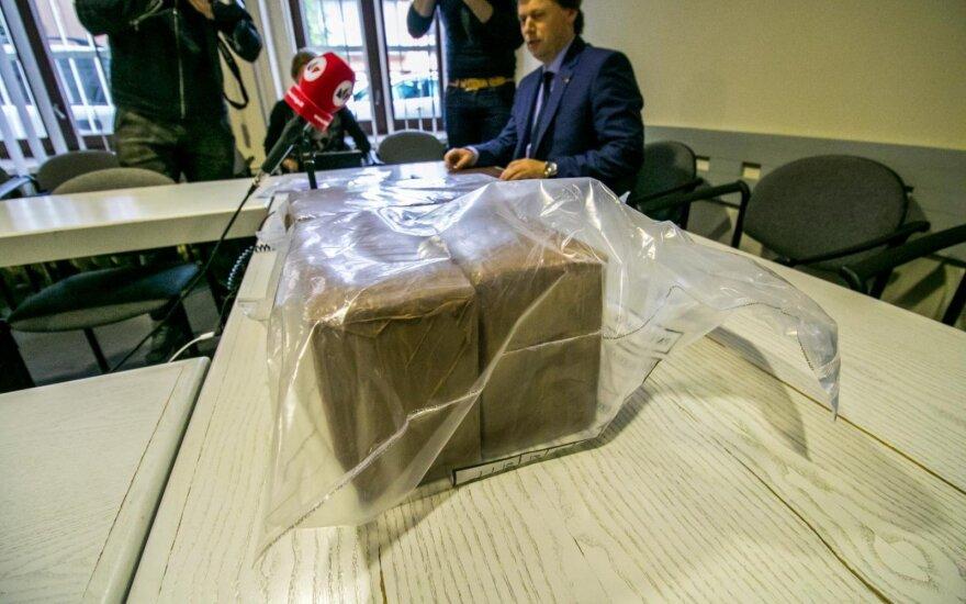 Добыча полиции: наркотики на сумму в треть миллиона евро