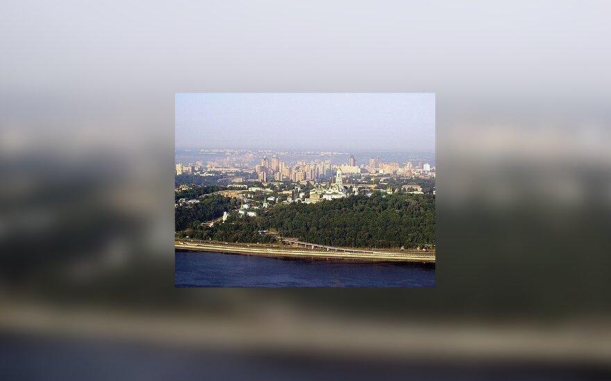 Kijevo statybų vaizdai