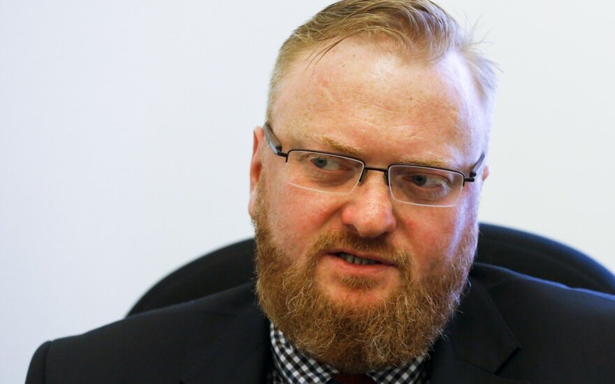 В Петербурге избили депутата Госдумы РФ Виталия Милонова