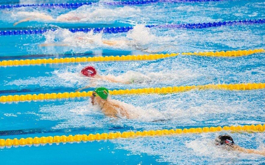 Пловец Шидлаускас - золотой призер Европейских игр в Баку