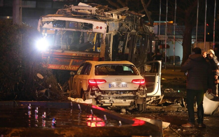 У МИД Литвы нет данных о пострадавших во взрыве в Анкаре литовцах