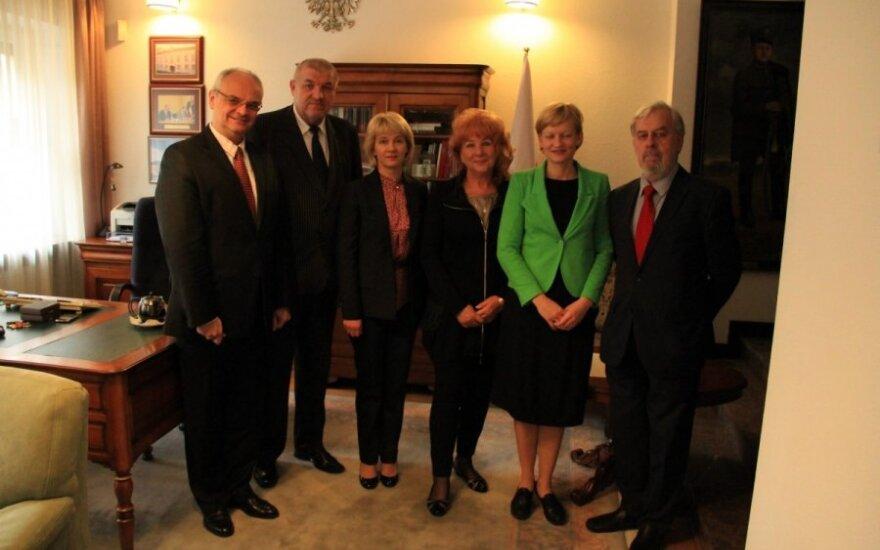 Utworzenie Konsulatu Generalnego RP w Kłajpedzie. Foto: Ambasada RP w Wilnie