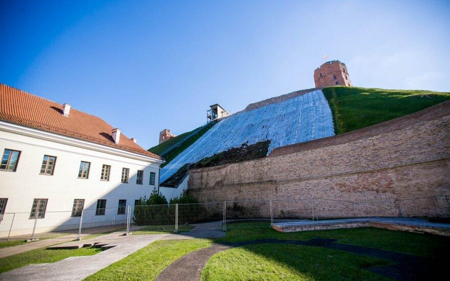 В Вильнюсе для посетителей открывают гору Гедиминаса