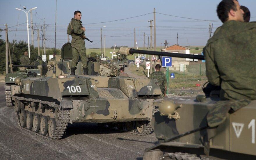 Житель Даугавпилса получил пять лет тюрьмы за участие в вооруженном конфликте в Украине