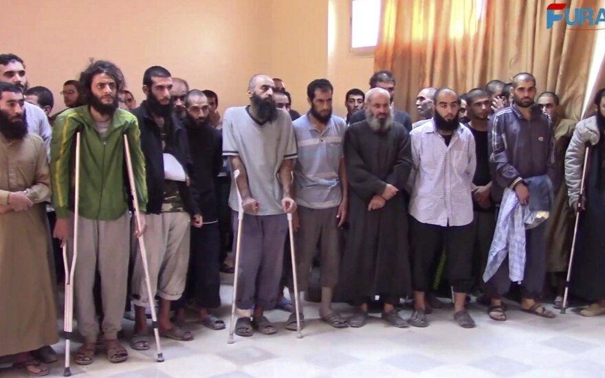 """Pasidavę """"Islamo valstybės"""" teroristai"""