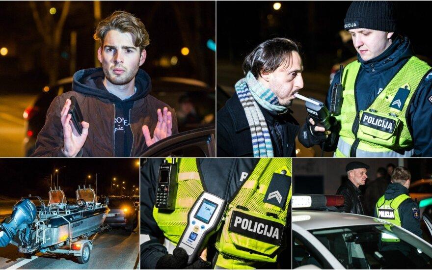 Ночной рейд в Вильнюсе: попались нетрезвые иностранцы