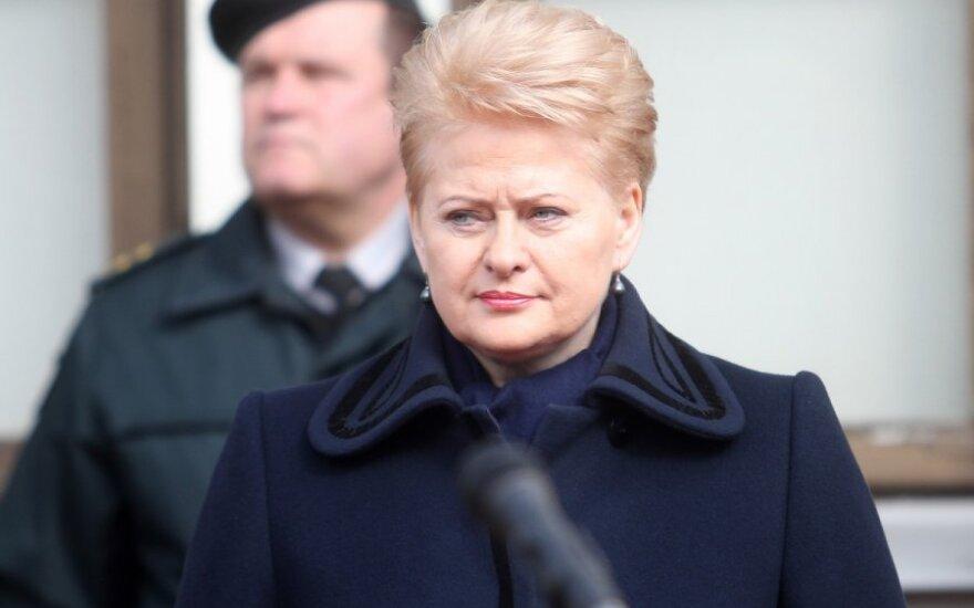 Dalia Grybauskaitė: Język litewski nie może być polityczną kartą przetargową