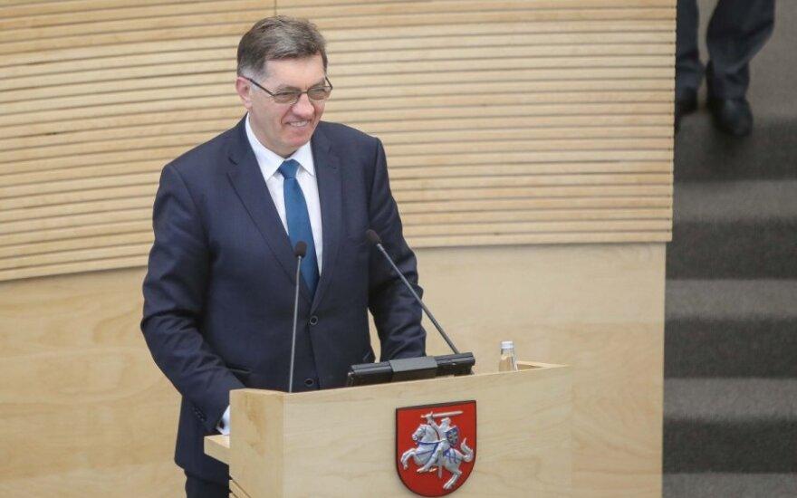 Буткявичюс снова назначен главой правительства Литвы