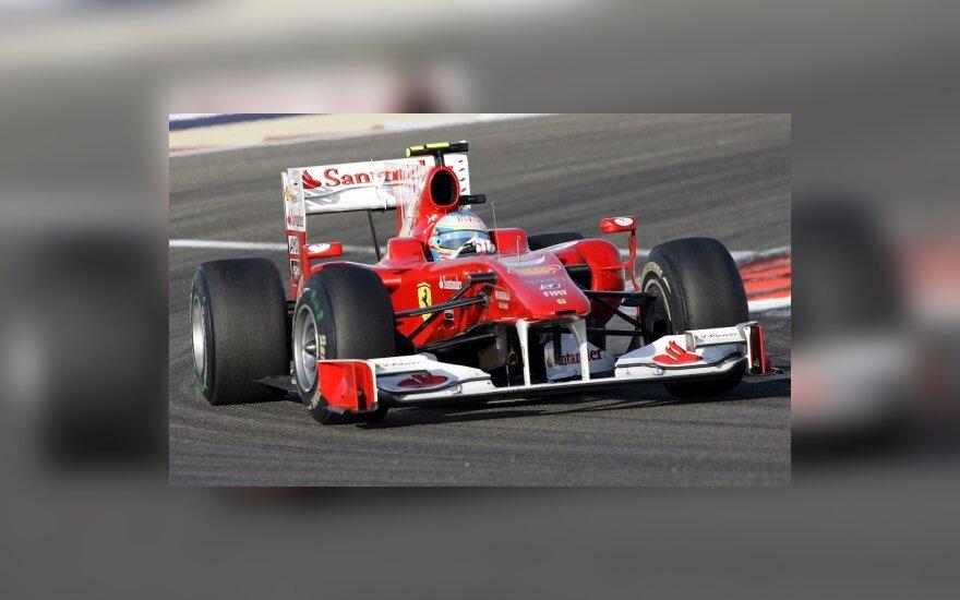 "Fernando Alonso su ""Ferrari"""