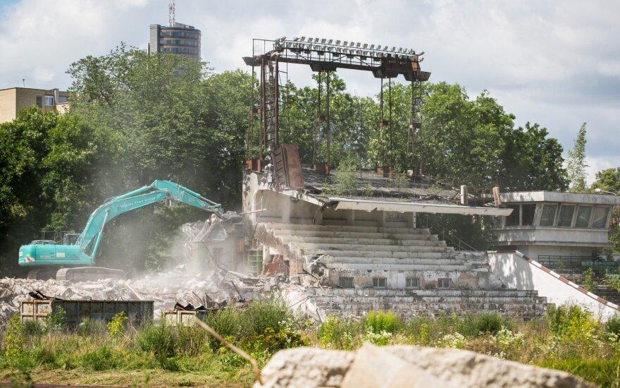 """На территории бывшего стадиона """"Жальгирис"""" будет построен квартал коммерческих и жилых зданий"""