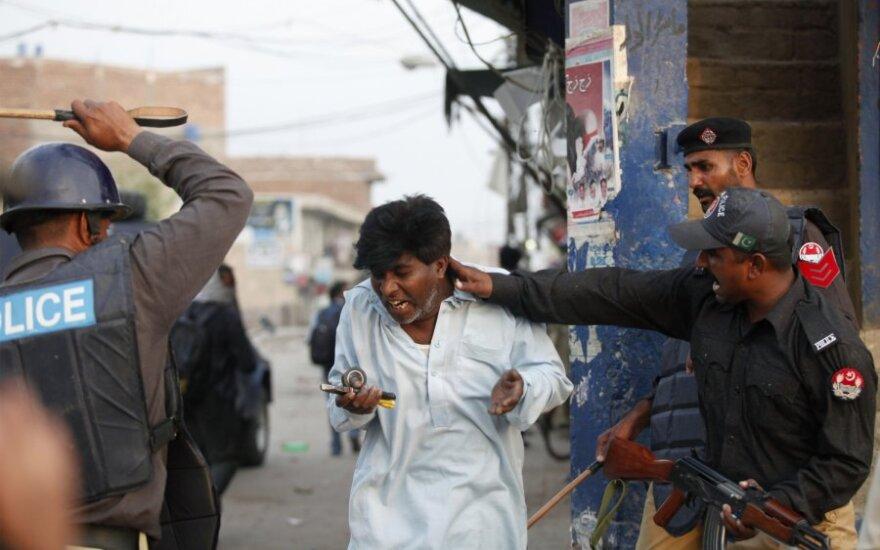 Policija suima Pakistano krikščionį