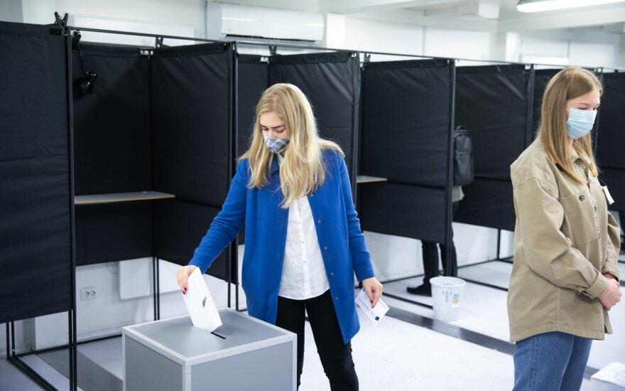 Из 27 тысяч находящихся в изоляции для голосования в Литве зарегистрировались 28 человек