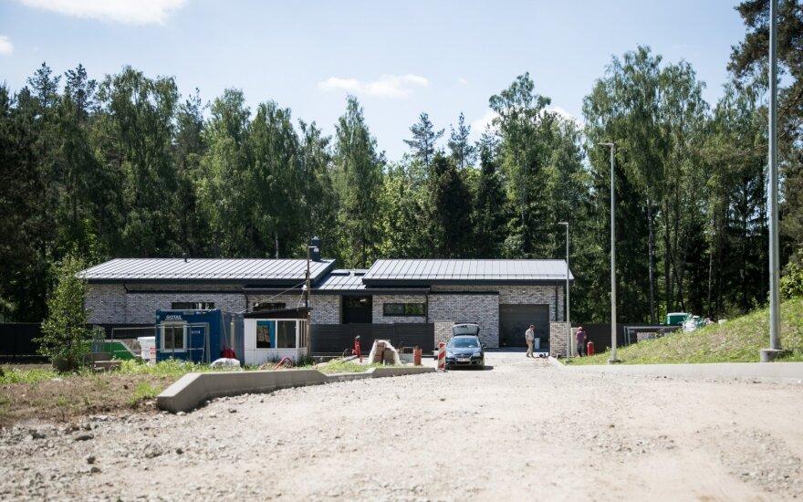 В новом доме президента Литвы работы идут полным ходом