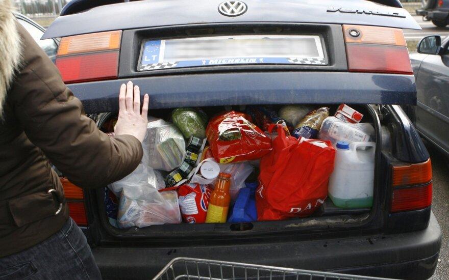 Co w Polsce pełny wózek, to na Litwie upchasz do kieszeni, czyli jeszcze raz o cenach