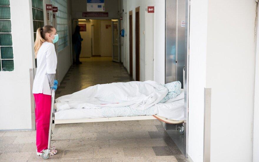 В Вильнюсской клинической больнице от коронавируса скончался пациент
