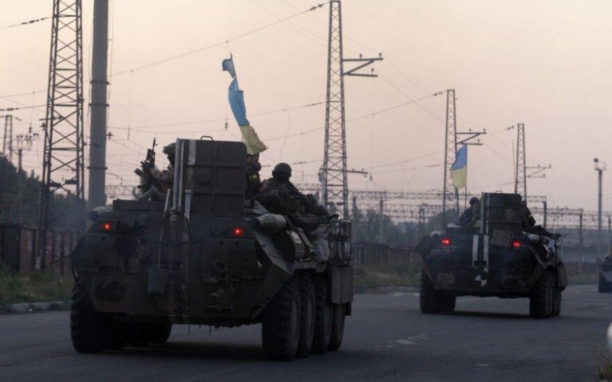 Силы АТО уничтожили базу террористов в Ровеньках