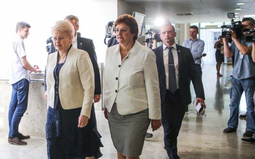 Dalia Grybauskaitė, Loreta Graužinienė