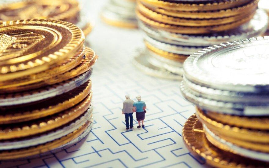 Правительство Литвы: пенсии с октября увеличатся примерно на 13 евро