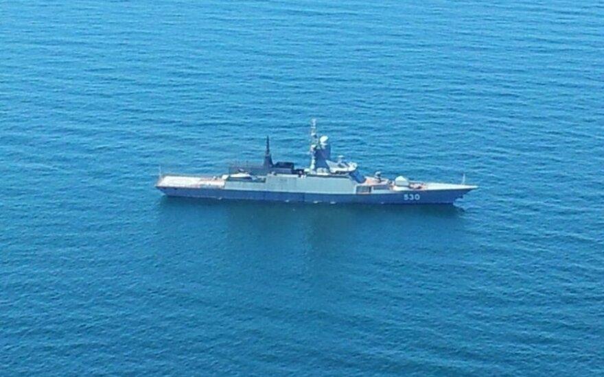 Rosyjskie korwety w litewskich wodach. Kolejny incydent na morzu Bałtyckim