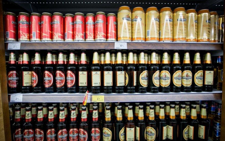 Продажи Svyturio-Utenos alus в прошлом году выросли на 4% до 170 млн евро