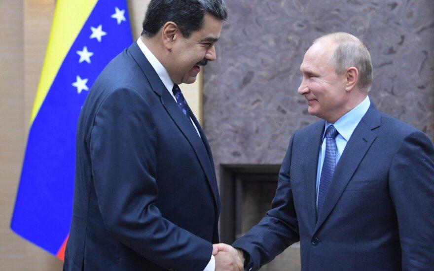 Vladimiras Putinas ir Nicolas Maduro