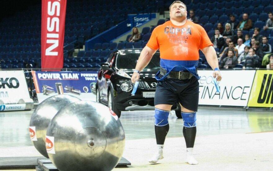 Савицкас – победитель Лиги чемпионов стронгменов
