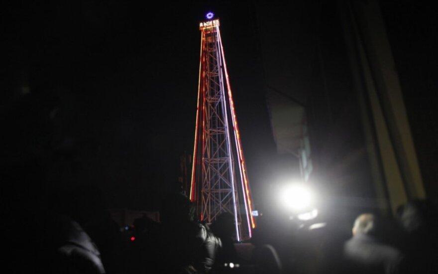 Южная Корея снесла башню в виде елки на границе с КНДР